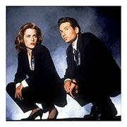 X-Files. Размер: 60 х 60 см